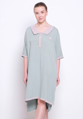 LUNA SLEEP DRESS (SAGE BEIGE)