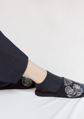LOLA SLIPPERS NAVY
